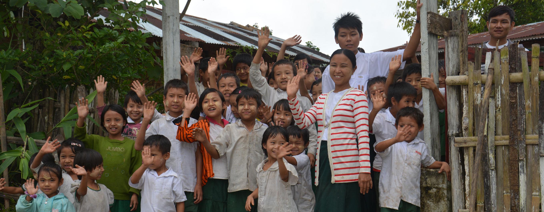 Rekordindsamling til skolebørn i Myanmar!