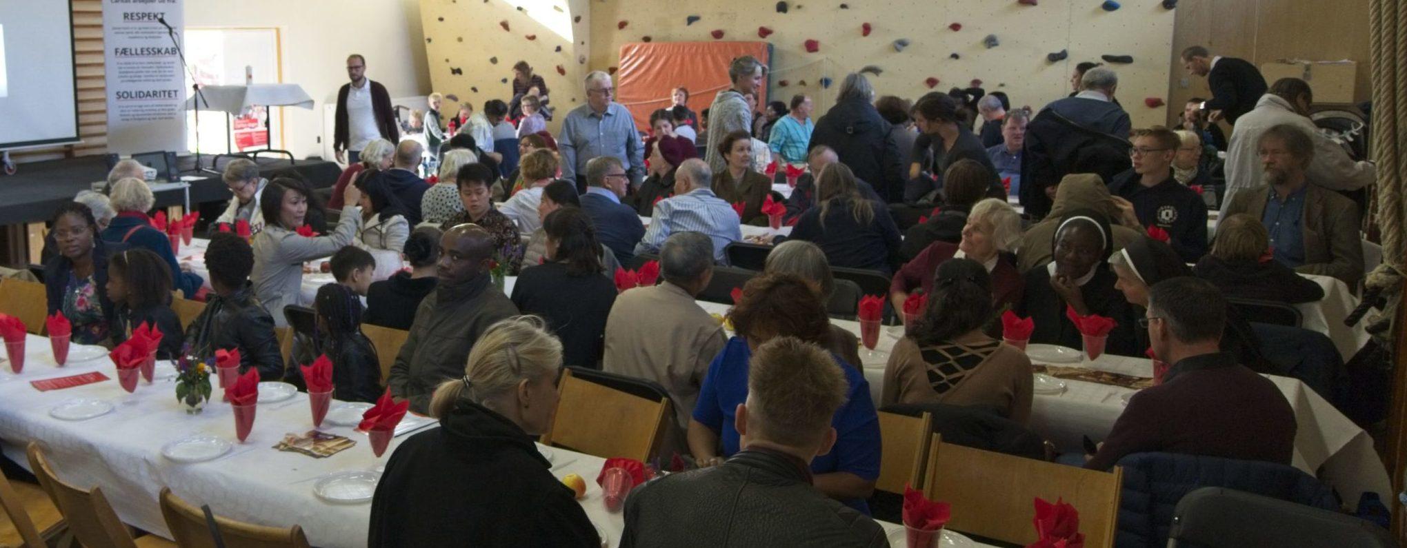 Stor opbakning til årsmødet og Caritas-dagen