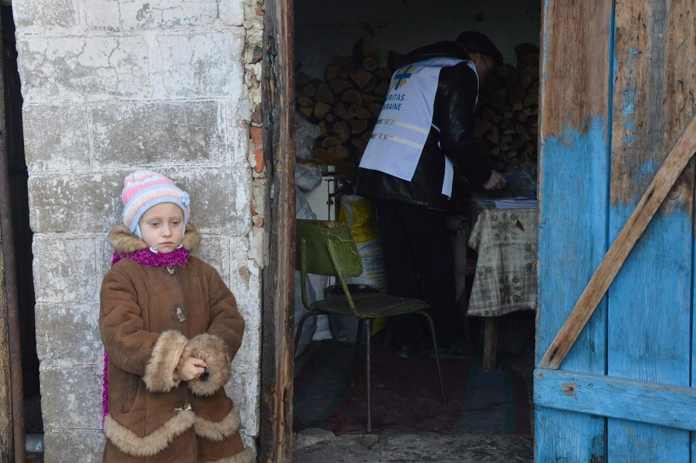 Caritas i det østlige Ukraine