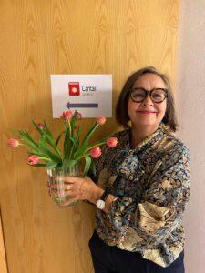 Nya Guldberg, aktivitetsleder af Caritas Læseklub